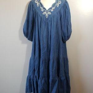 Vintage Denim Ropa Dress
